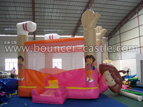 GB-140 Inflatable Dora Bouncer