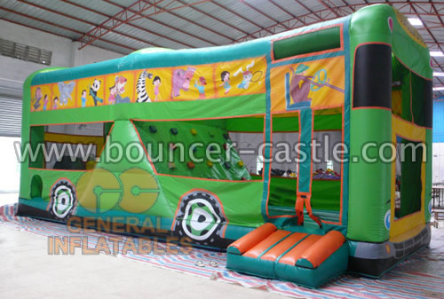 GB-22 Inflatable Bus bouncer
