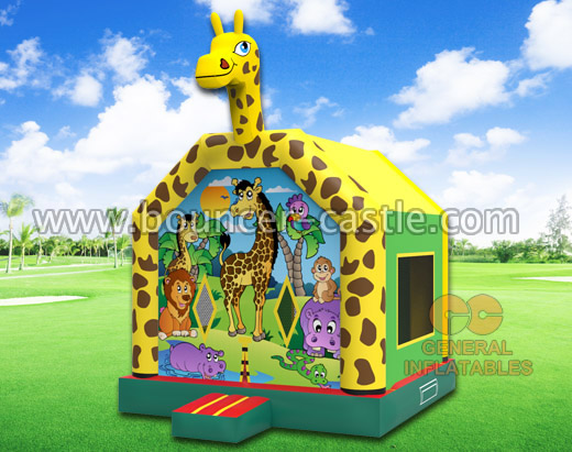 GB-34 Safari park bounce house