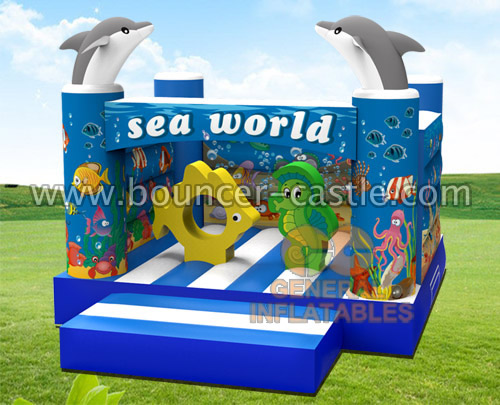 GB-361 Sea world bounce house