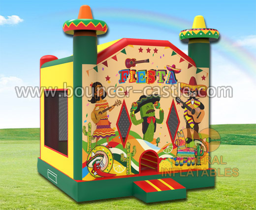 GB-398 Fiesta bounce house