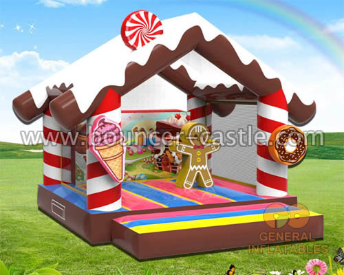 GB-442 Candy bounce house