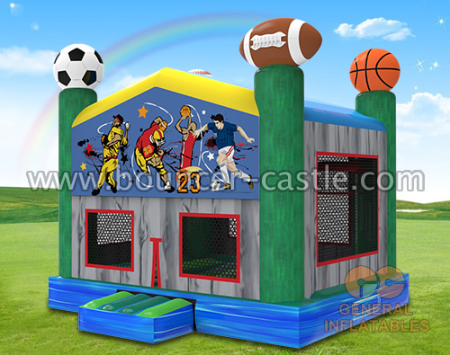 GB-457  Sport bounce house