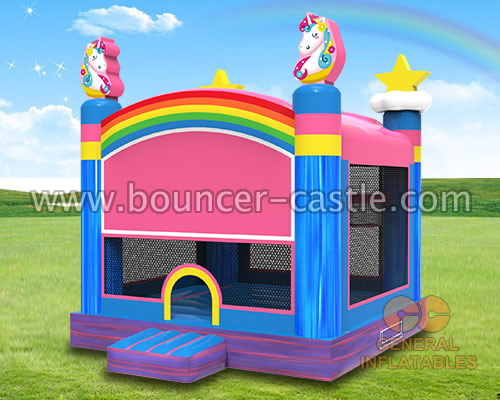GB-458  Unicorn inflatable jumper