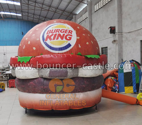 GCar-54 Advertising hamburger