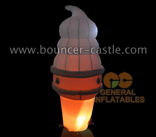 GCar-61 LED Glow ice cream