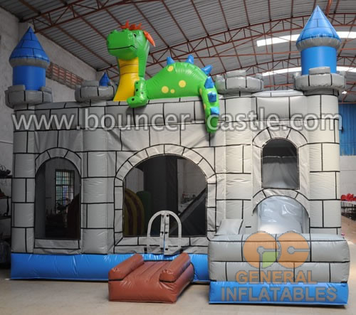 GC-114 Dino castle combos inflatable castles