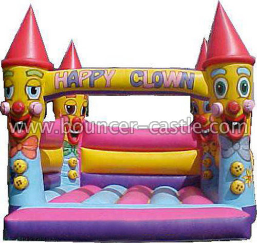 GC-121 Happy clown castle
