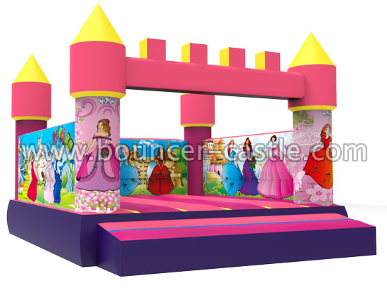 GC-135 Princess bounce house