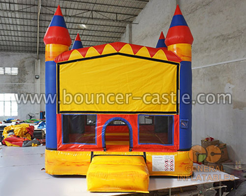 GC-172 Mini bounce house with basketball hoop