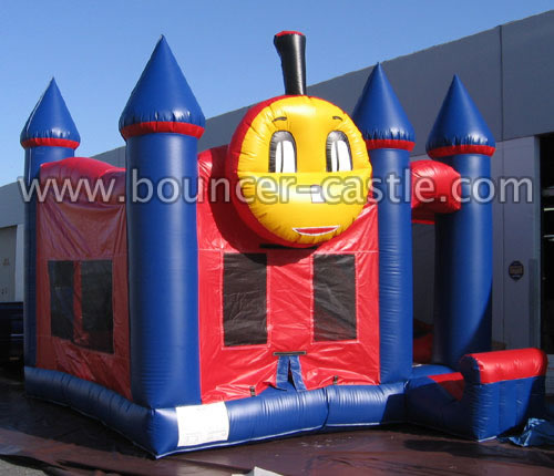 GC-59 Inflatable 5 in 1 Train Combo