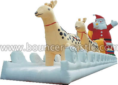 GX-8 Inflatable Reindeer Sled