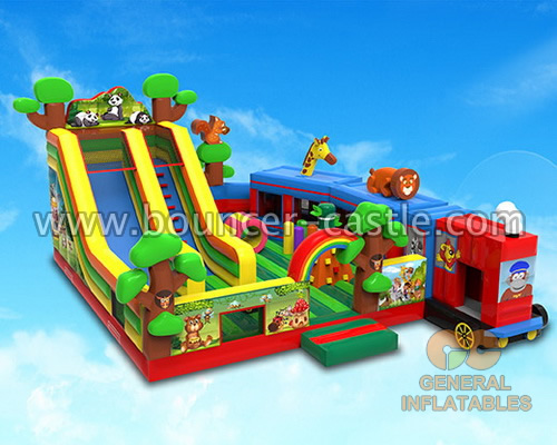 GF-155 Rainforest train playpark