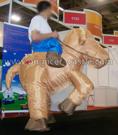 GM-15 Gallop Horse Inflatable Moving Cartoon