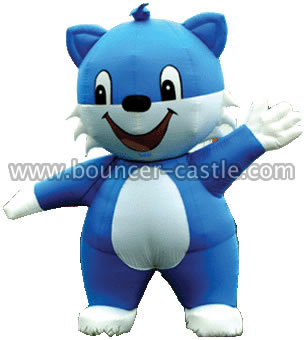 GM-4 Blue Cat Inflatable Moving Cartoon