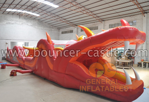 GO-105 Fire dragon obstacles