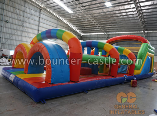 GO-164 Rainbow obstacle course
