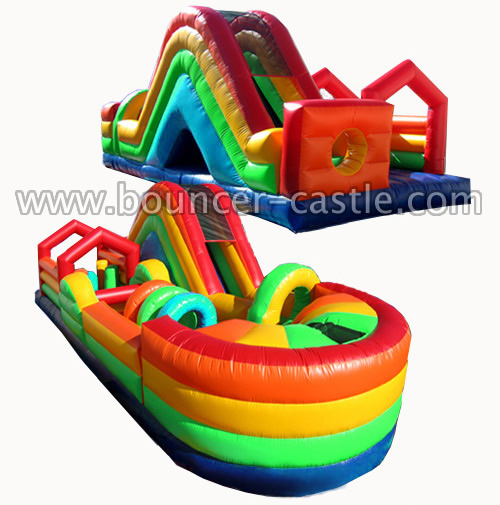 GO-61 Rainbow Inflatable Obstacle