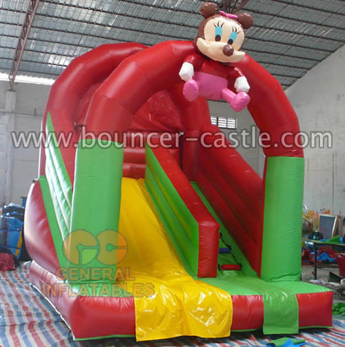 GS-158 Inflatable Minnie Mouse Slides