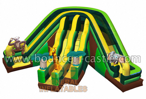 GS-159 Inflatable Jungle Slides