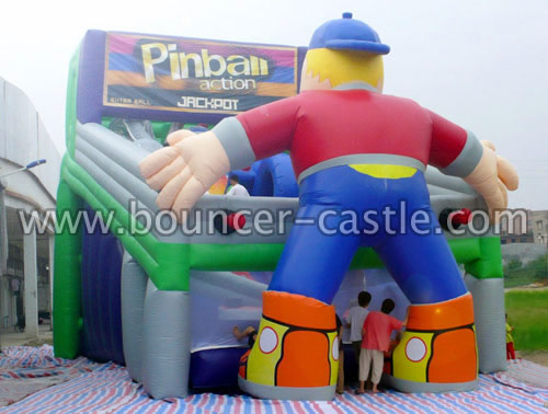 GS-162 Inflatable Pinball Slides