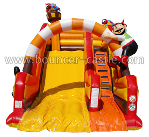 GS-163 Inflatable Pirates Slides