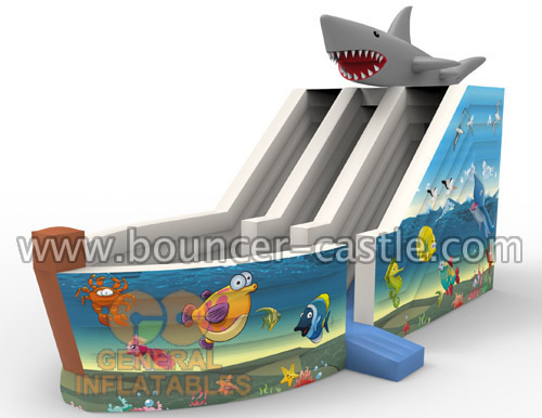 GS-198 Sea World Slide Inflatables