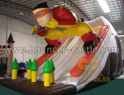 GS-43 Inflatable skier slide