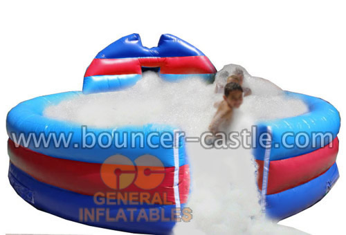 GSP-126 Inflatable Foam Pit with foam machine