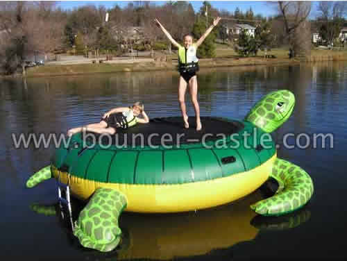 GW-43 Inflatables Turtle Trampoline