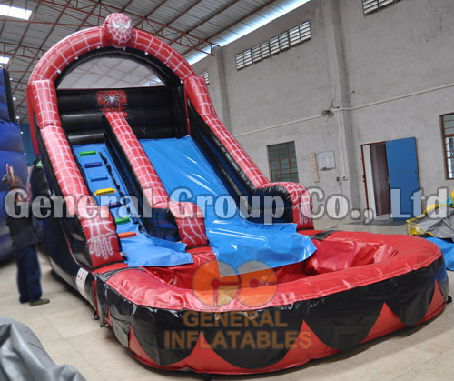 GWS-87  Spiderman water slide