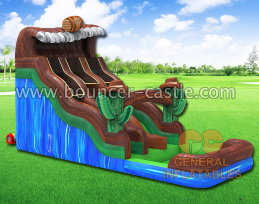 GWS-106 Inflatable water slide