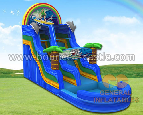 GWS-11 Surfing water slide