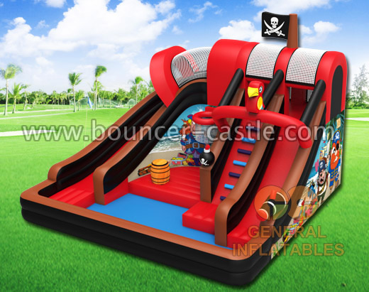 GWS-153 Pirate water slide with pool