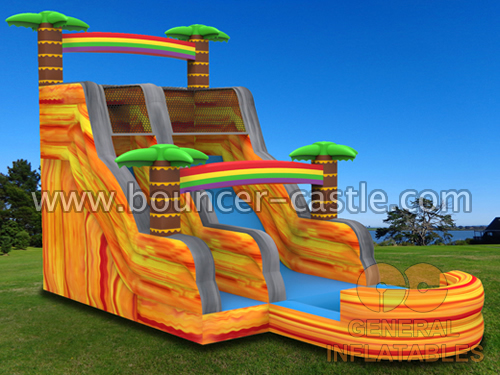 GWS-9 Rainforest water slide