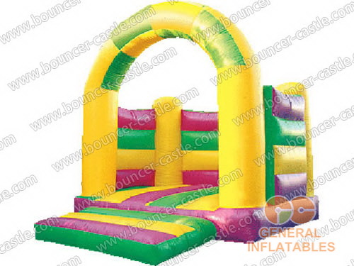 Color Strip Bouncer without roof