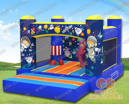 Explore the Space bounce house