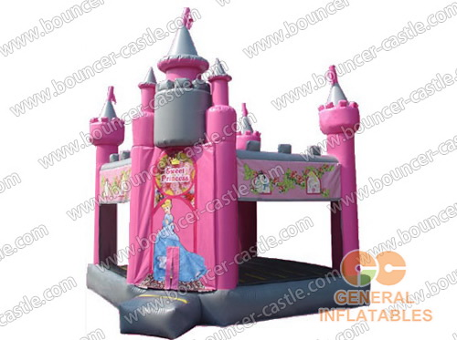 Inflatable Cinderella Magical Castle