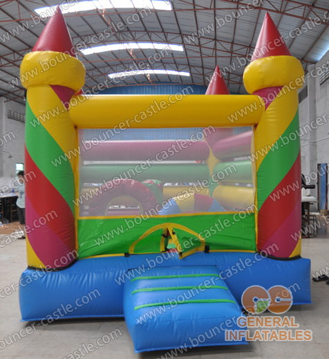Inflatable candy castles