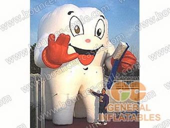 Inflatable advertising cartoons