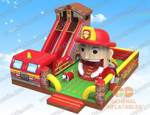 Firestation playground with moving mouth