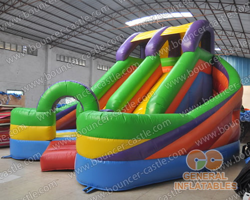 Inflatable combo obstacle