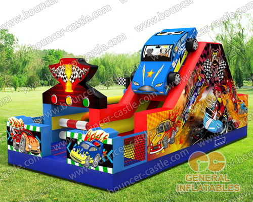 Racecar obstacle course