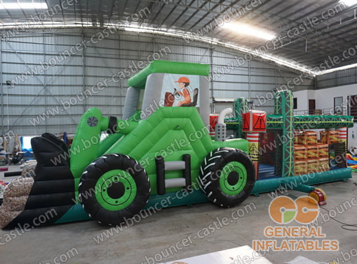 Tractor obstacle course