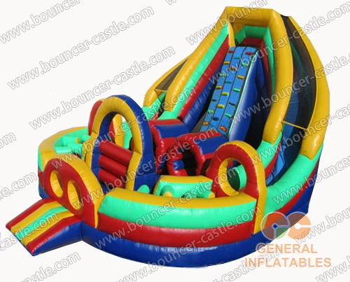 30ftl Dual Lane Inflatable Obstacle