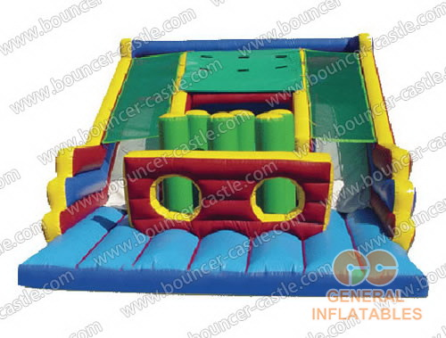 Inflatable slide and combo