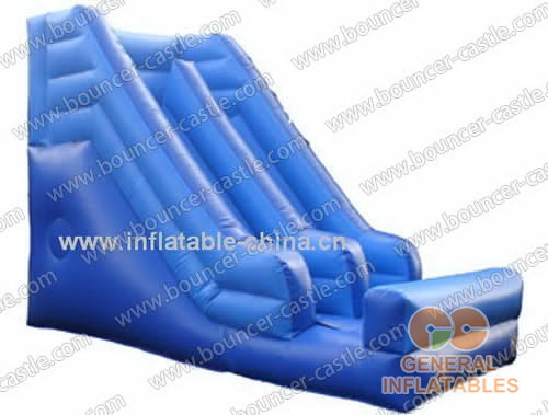 Inflatable blue slides for sale in China