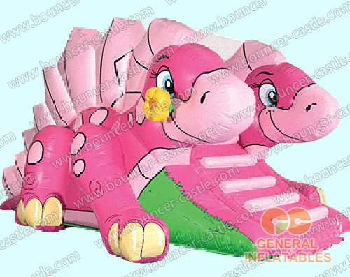 Inflatable daisy dino slides
