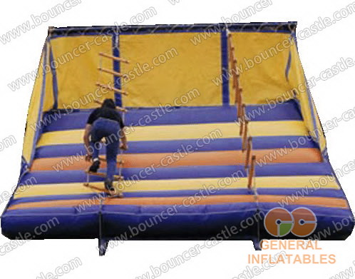 Inflatable String-Stair Climbing
