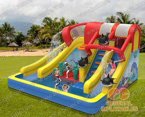 Cool your summer! water slide